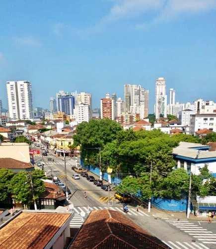 Apartamento, código 3206 em Santos, bairro Embaré