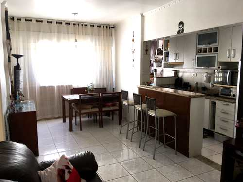 Apartamento, código 3324 em São Vicente, bairro Itararé