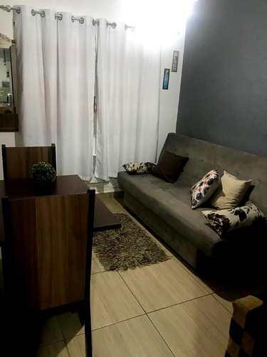 Apartamento, código 3372 em Santos, bairro Aparecida