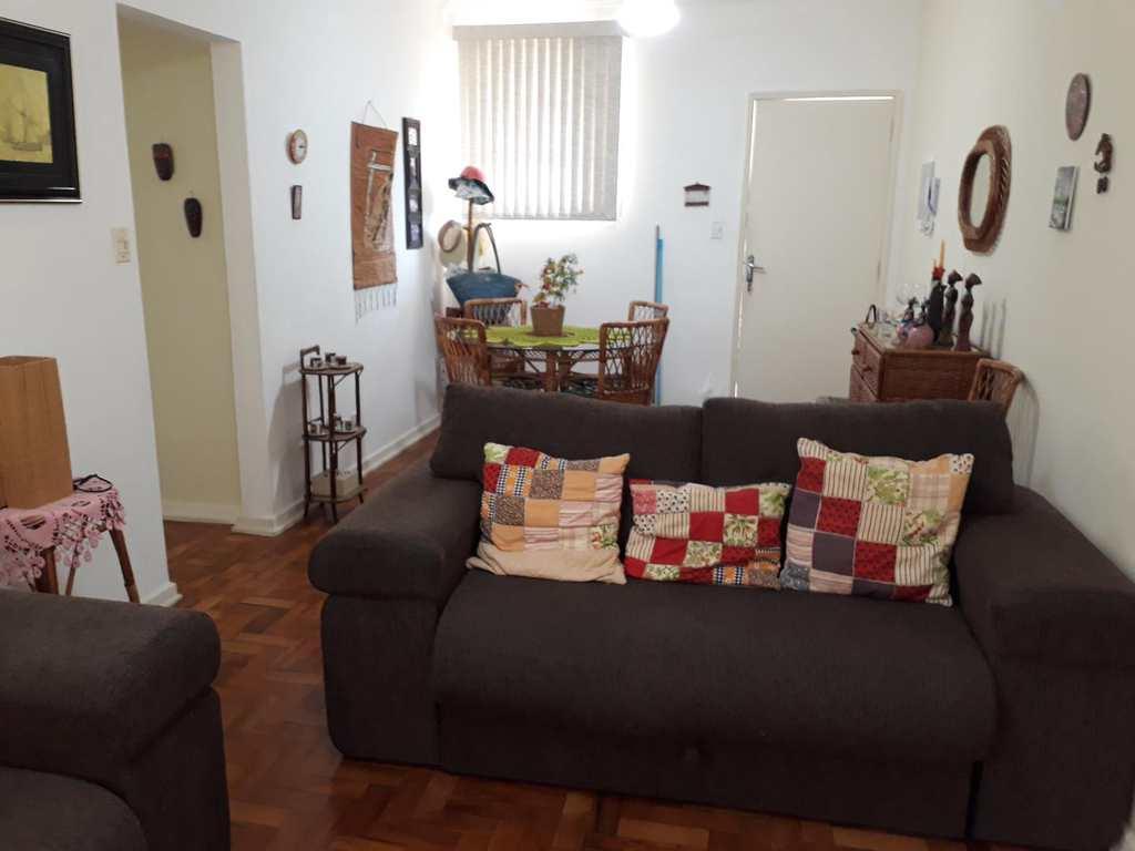 Apartamento em Santos, no bairro José Menino