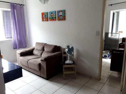 Apartamento, código 3384 em São Vicente, bairro Itararé