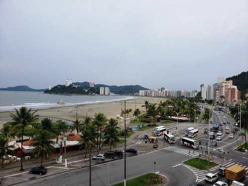 Kitnet, código 3468 em Santos, bairro José Menino