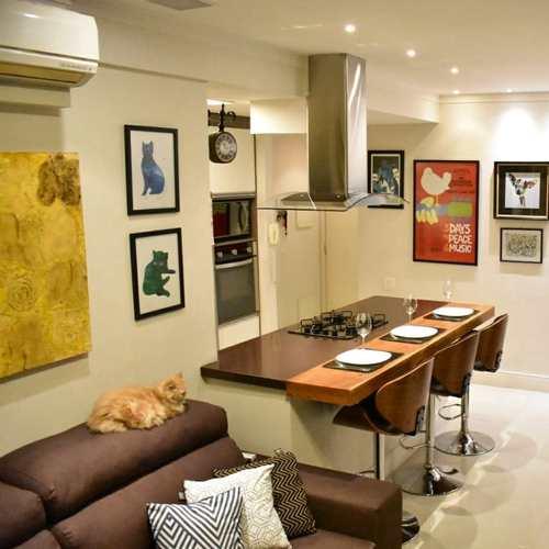 Apartamento, código 3492 em Santos, bairro José Menino