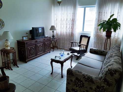 Apartamento, código 3518 em Santos, bairro Marapé
