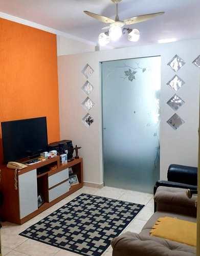 Apartamento, código 3624 em Santos, bairro José Menino