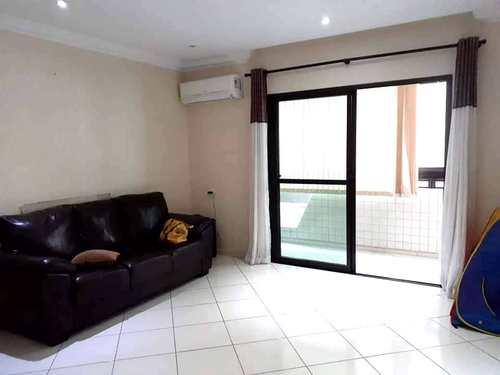 Apartamento, código 3664 em São Vicente, bairro Catiapoa