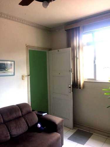 Apartamento, código 3692 em Santos, bairro Marapé