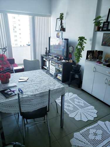 Apartamento, código 3696 em Santos, bairro José Menino