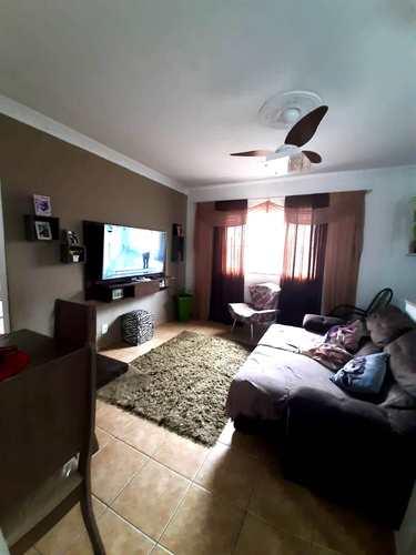 Apartamento, código 3699 em Santos, bairro Marapé
