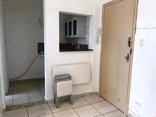 Kitnet, código 3749 em São Vicente, bairro Itararé