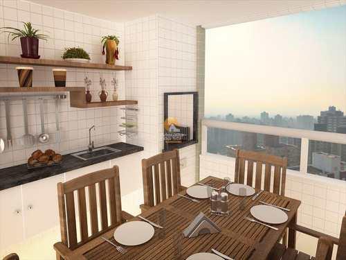 Apartamento, código 2901 em Praia Grande, bairro Mirim