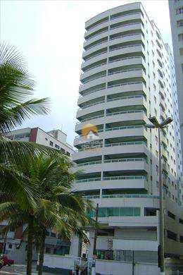 Apartamento, código 195 em Praia Grande, bairro Guilhermina