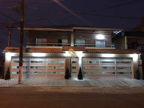 Casa de Condomínio, código 4418 em Praia Grande, bairro Caiçara
