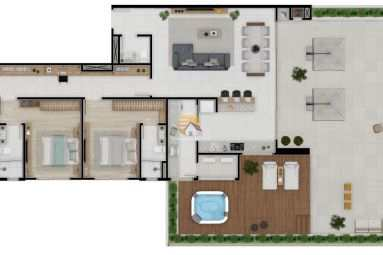 Apartamento em Navegantes, no bairro Gravatá