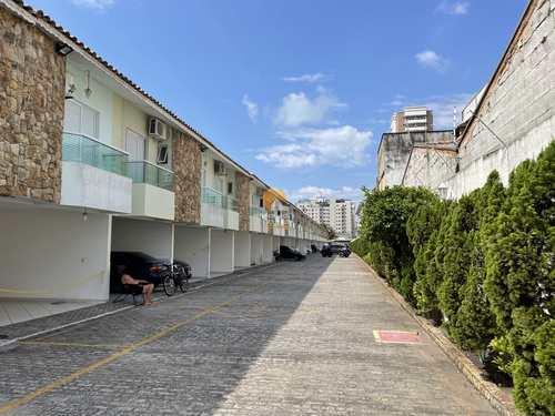 Sobrado de Condomínio, código 6068 em Praia Grande, bairro Canto do Forte