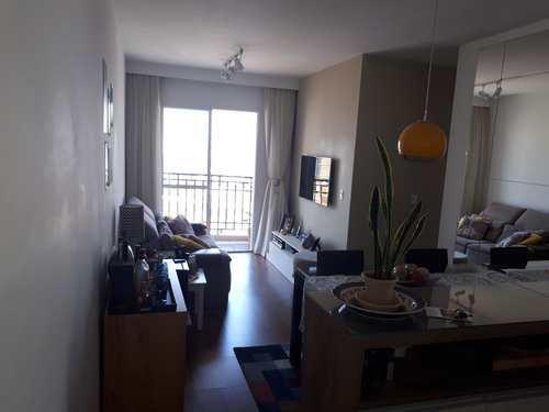 Apartamento, código 1766 em Santo André, bairro Campestre