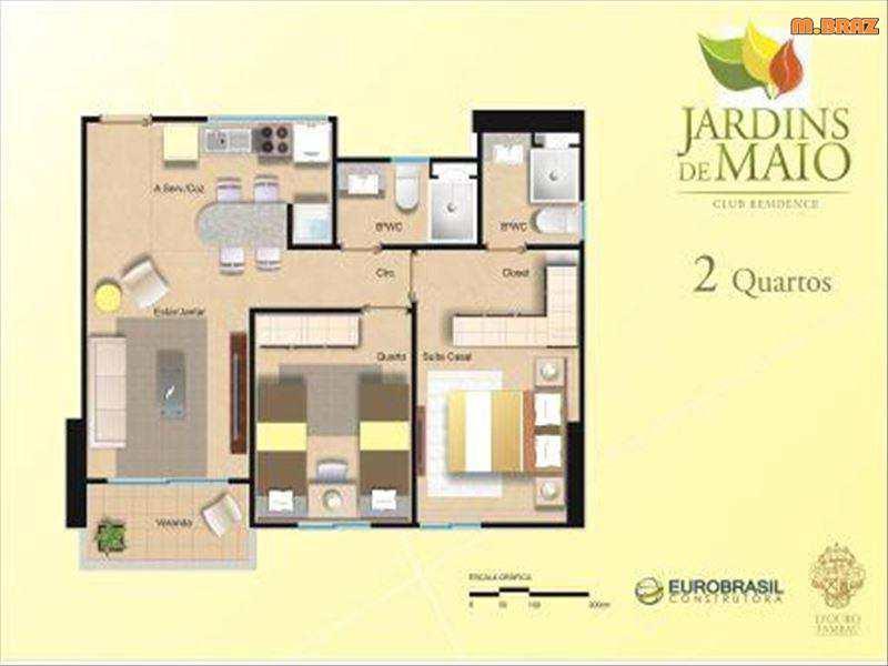 Apartamento em João Pessoa, no bairro Treze de Maio