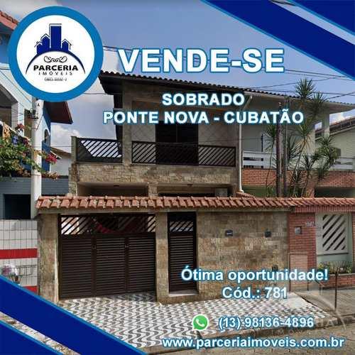 Sobrado, código 781 em Cubatão, bairro Vila Ponte Nova