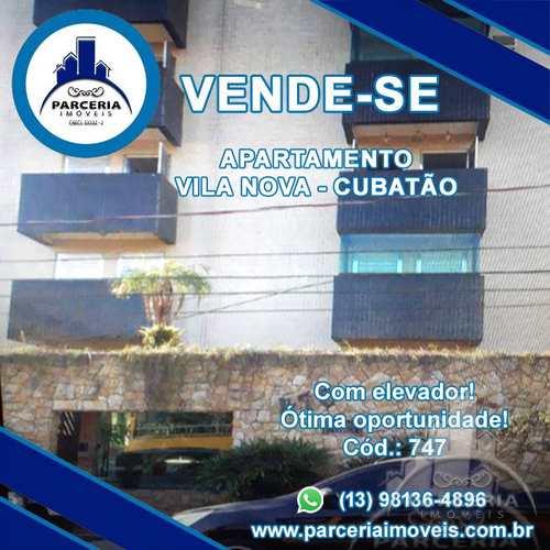 Apartamento, código 747 em Cubatão, bairro Vila Nova