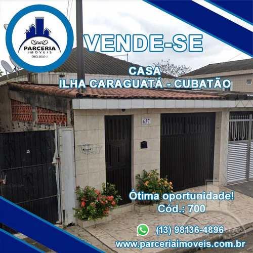 Casa, código 700 em Cubatão, bairro Vila Caraguata