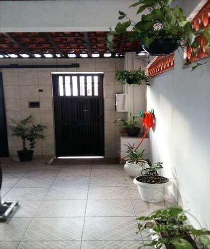 Sobrado, código 700 em Cubatão, bairro Vila Caraguata