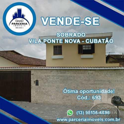 Sobrado, código 693 em Cubatão, bairro Vila Ponte Nova
