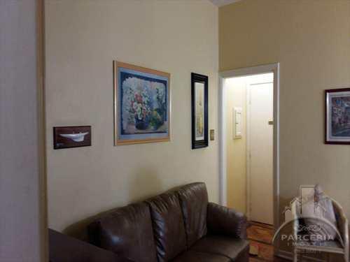Apartamento, código 642 em Santos, bairro Aparecida