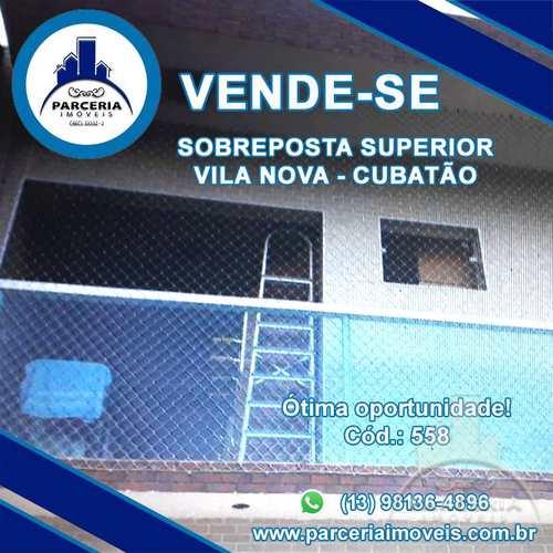 Casa, código 558 em Cubatão, bairro Vila Nova