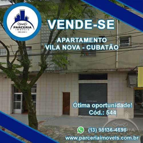 Apartamento, código 544 em Cubatão, bairro Vila Nova