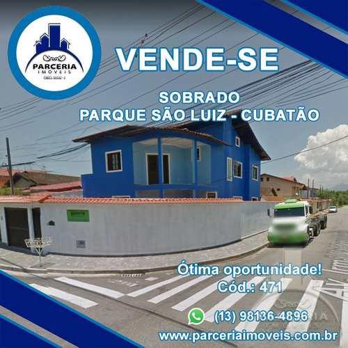 Sobrado, código 471 em Cubatão, bairro Parque São Luis