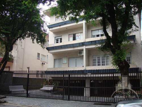 Apartamento, código 417 em Santos, bairro Boqueirão