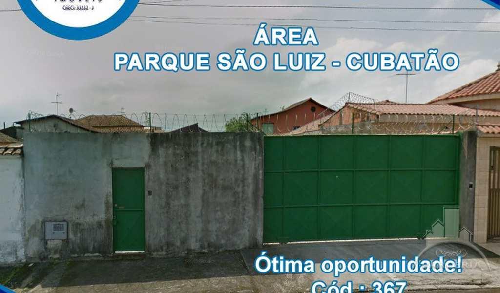 Terreno em Cubatão, bairro Parque São Luis