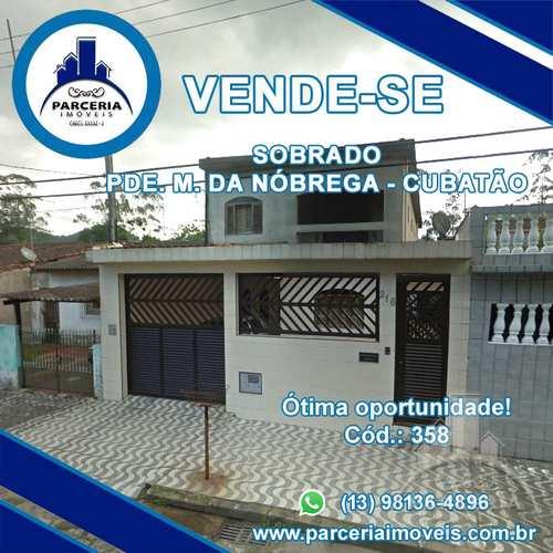 Sobrado, código 358 em Cubatão, bairro Padre Manoel da Nóbrega