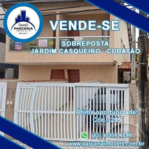 Casa, código 295 em Cubatão, bairro Jardim Casqueiro