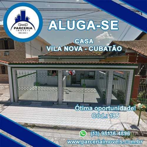 Casa, código 195 em Cubatão, bairro Vila Nova