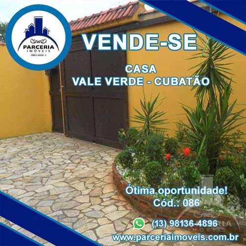 Casa, código 86 em Cubatão, bairro Vale Verde