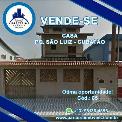 Sobrado, código 85 em Cubatão, bairro Parque São Luis