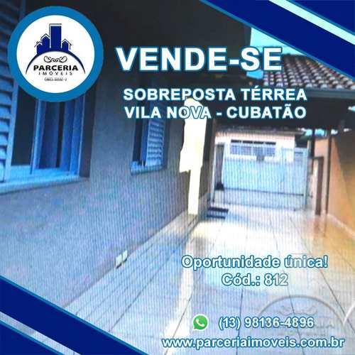 Casa, código 812 em Cubatão, bairro Vila Nova