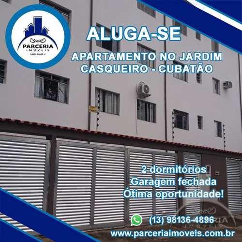 Apartamento, código 828 em Cubatão, bairro Jardim Casqueiro