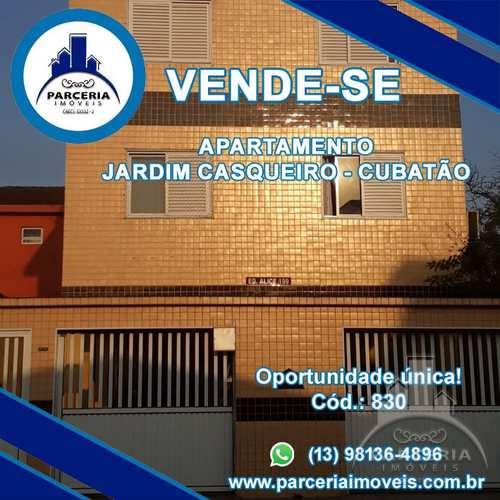 Apartamento, código 830 em Cubatão, bairro Jardim Casqueiro