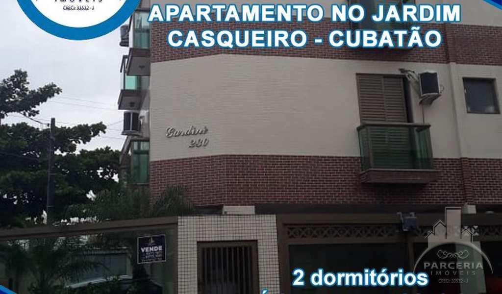 Apartamento em Cubatão, bairro Jardim Casqueiro