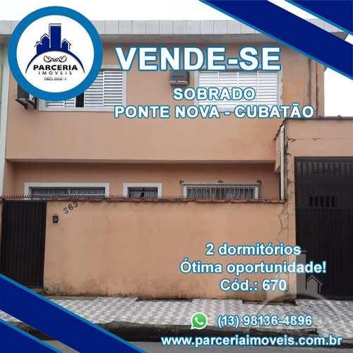 Sobrado, código 870 em Cubatão, bairro Jardim Casqueiro