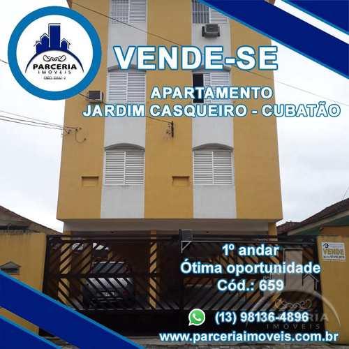 Apartamento, código 872 em Cubatão, bairro Jardim Casqueiro