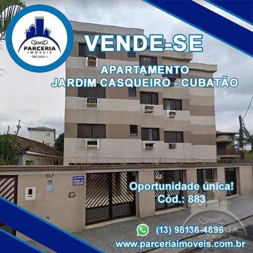 Apartamento, código 883 em Cubatão, bairro Jardim Casqueiro