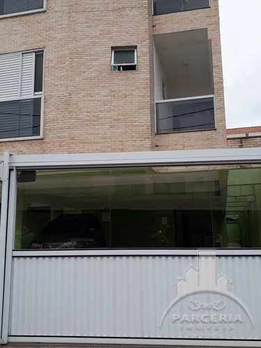 Apartamento, código 893 em Cubatão, bairro Jardim Casqueiro