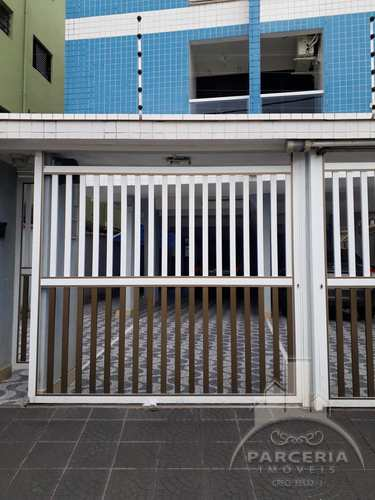 Apartamento, código 902 em Cubatão, bairro Jardim Casqueiro