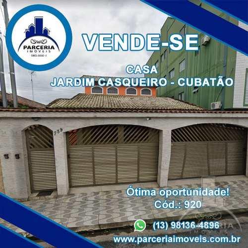 Casa, código 920 em Cubatão, bairro Jardim Casqueiro