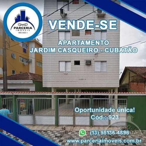 Apartamento, código 923 em Cubatão, bairro Jardim Casqueiro