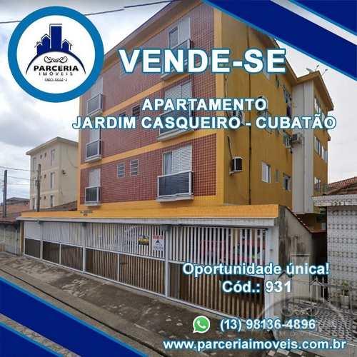 Apartamento, código 931 em Cubatão, bairro Jardim Casqueiro