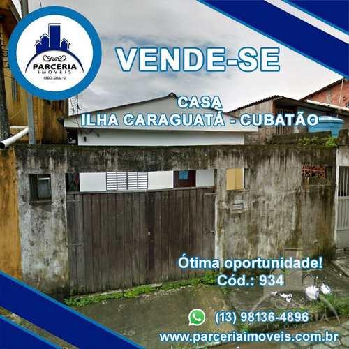 Casa, código 934 em Cubatão, bairro Vila Caraguata